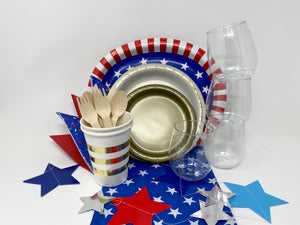 Proud to be an American Party Kit