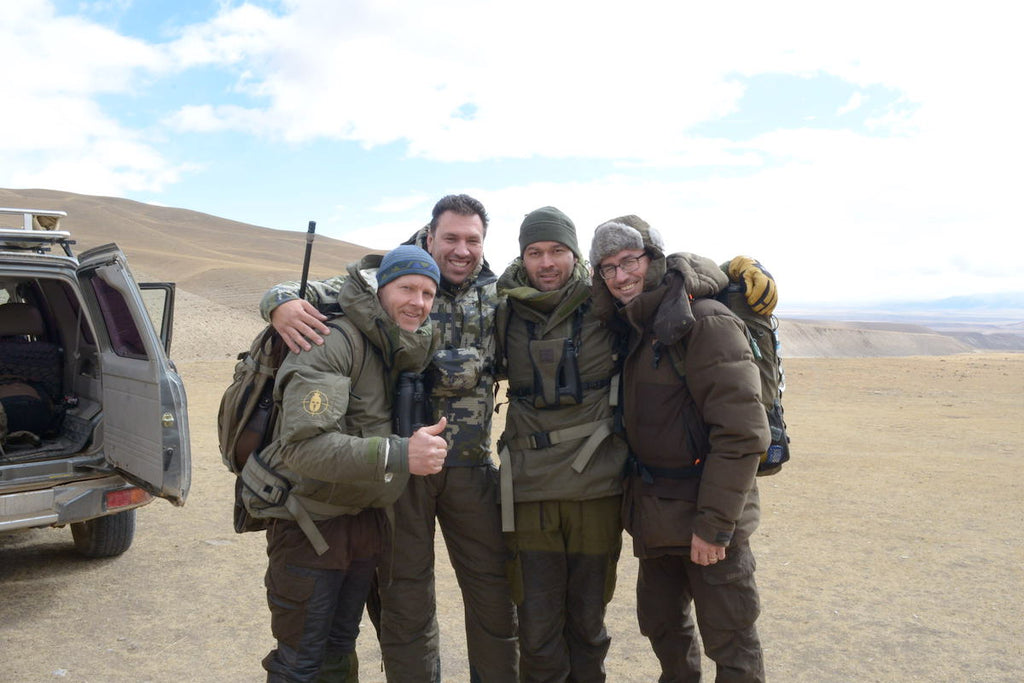 The Spartan team; Mr G, Tomo, Mr C and our Dave