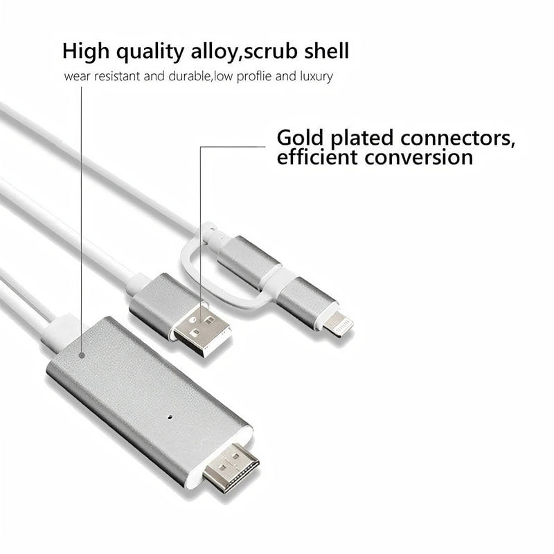 BoldProjector™ - Mobile HDMI Cable Connector