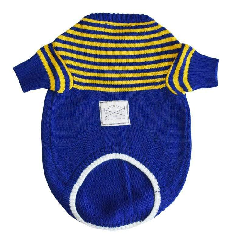 Royal Blue X Yellow Sweater Sweater Polopet