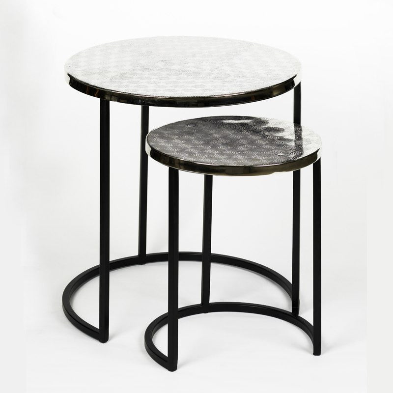 metal sidetable set