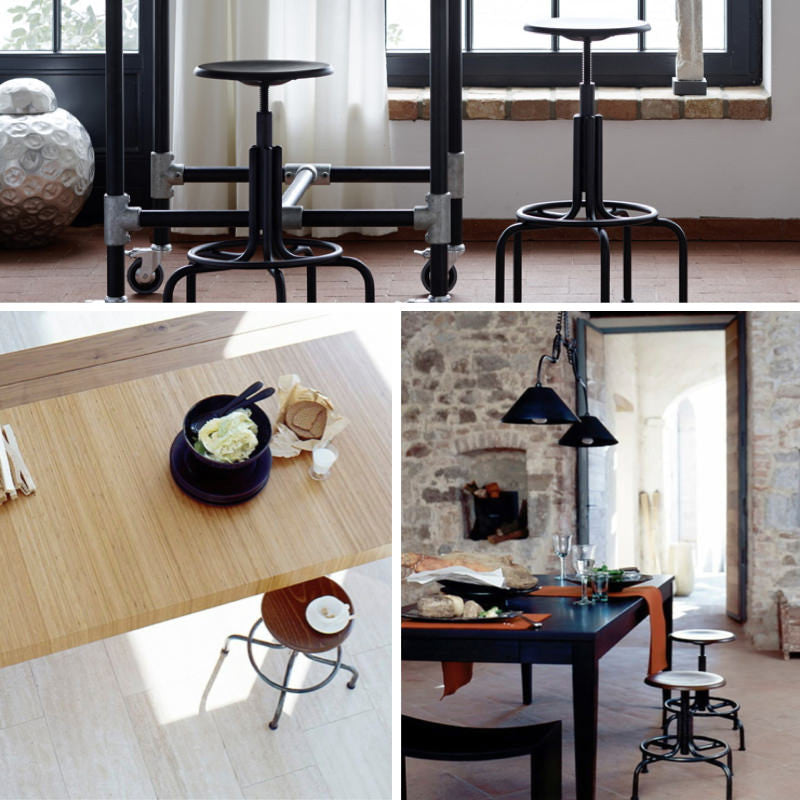 authentic industrial style furniture