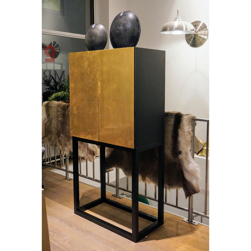 decorative gold cabinet