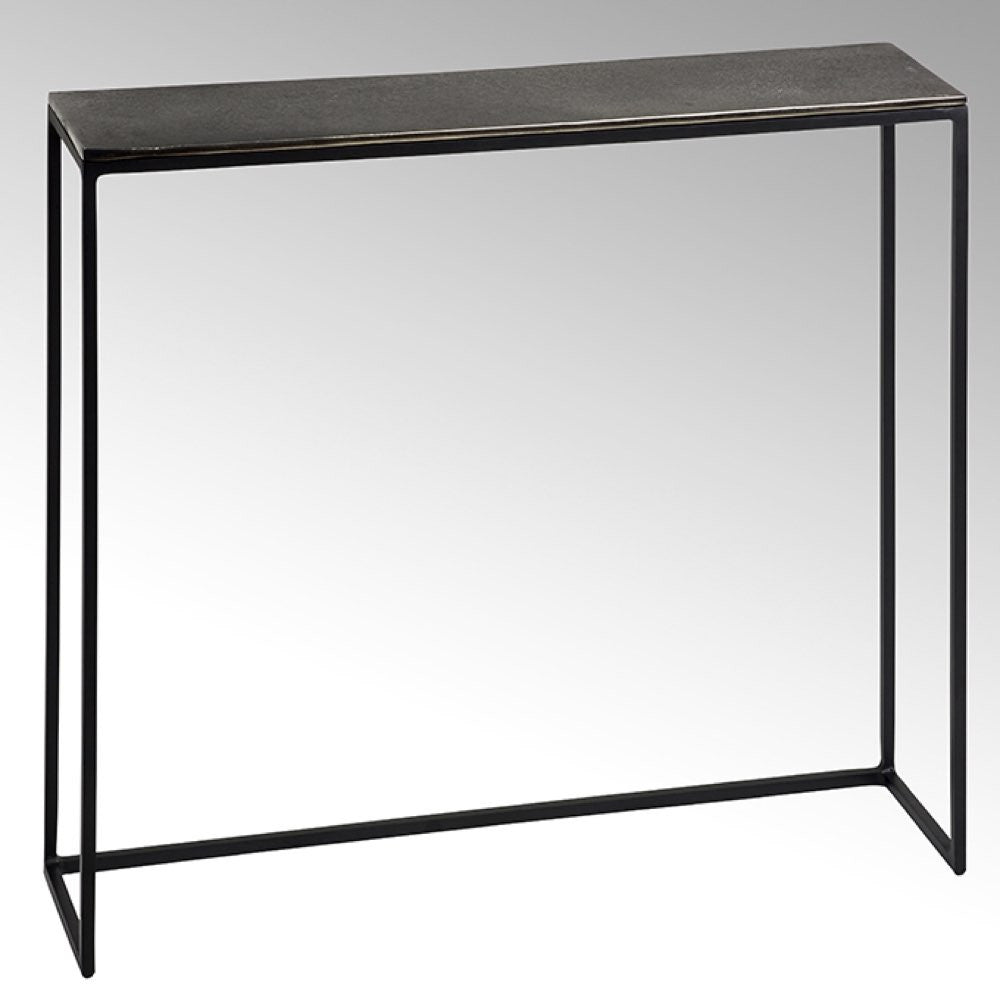 small designer metal table