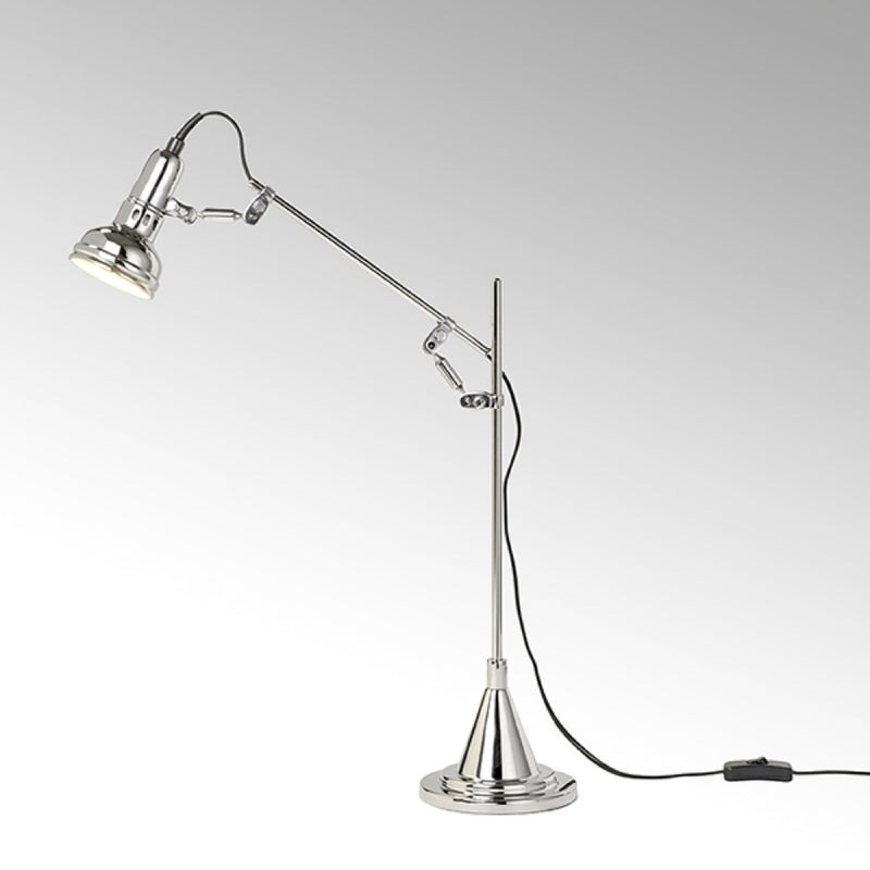 SWITCH ON Table Lamp 1 Nickel