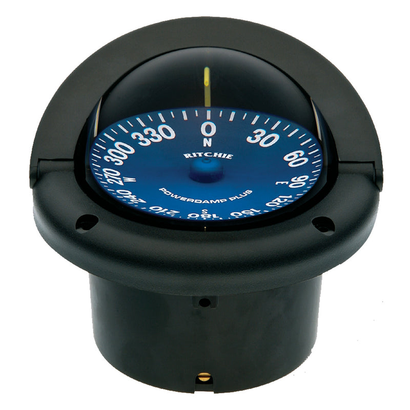 Ritchie SS-1002 SuperSport Compass - Flush Mount - Black