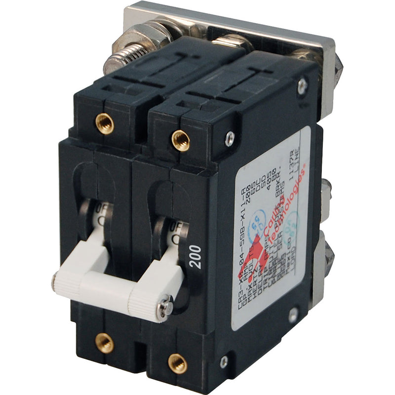 Blue Sea 7269 200A Double Pole Circuit Breaker