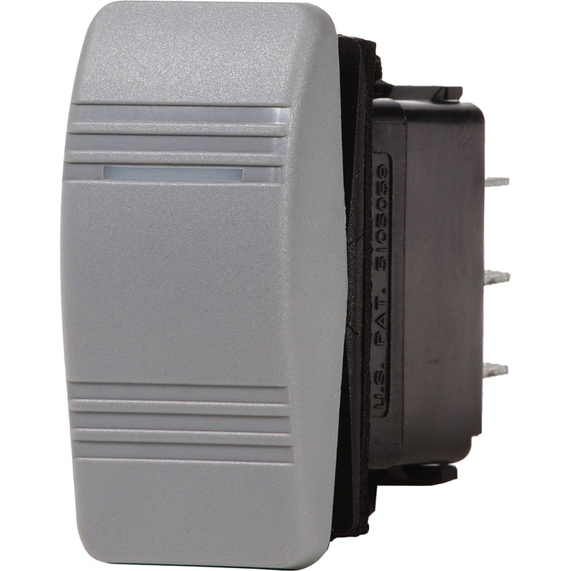 Blue Sea 8233 Water Resistant Contura III Switch - Gray