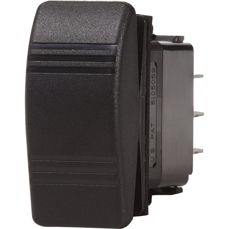 Blue Sea 8290 Water Resistant Contura III Switch - Black