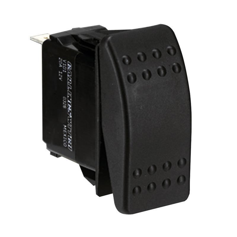 Paneltronics Switch SPST Black On/On Rocker