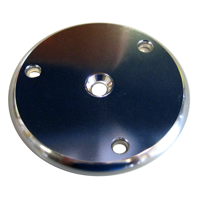 Wahoo 109 Backing Plate w/Gasket - Anodized Aluminum