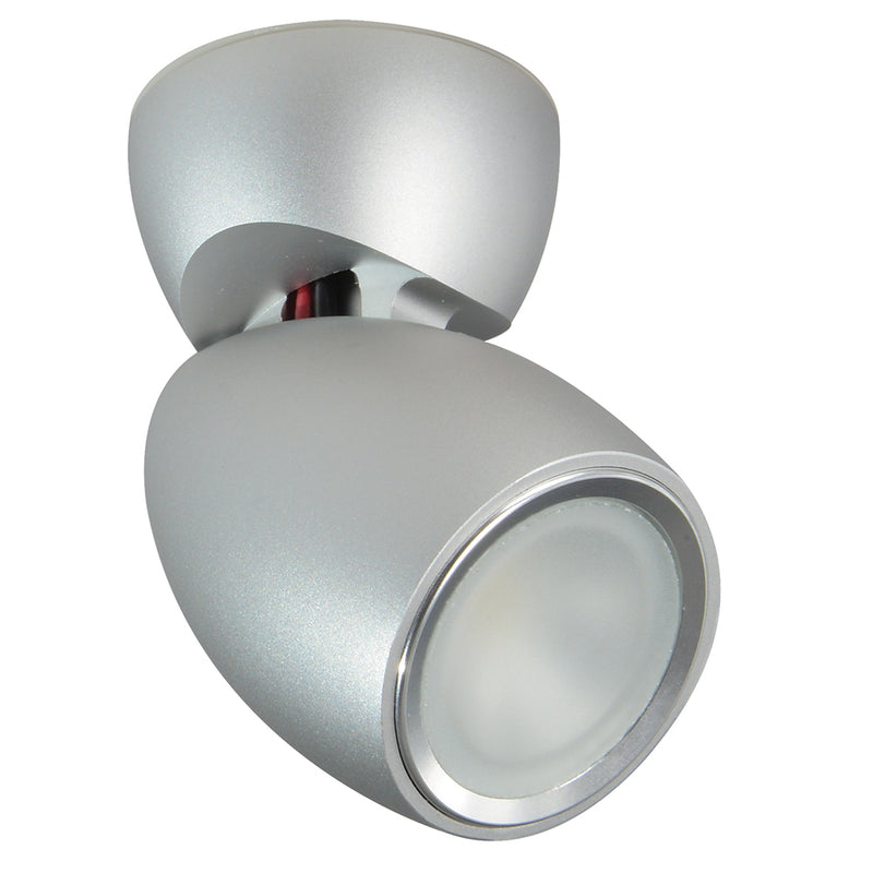 Lumitec GAI2 - General Area Illumination2 Light - Brushed Finish - 3-Color Red/Blue Non-Dimming w/White Dimming