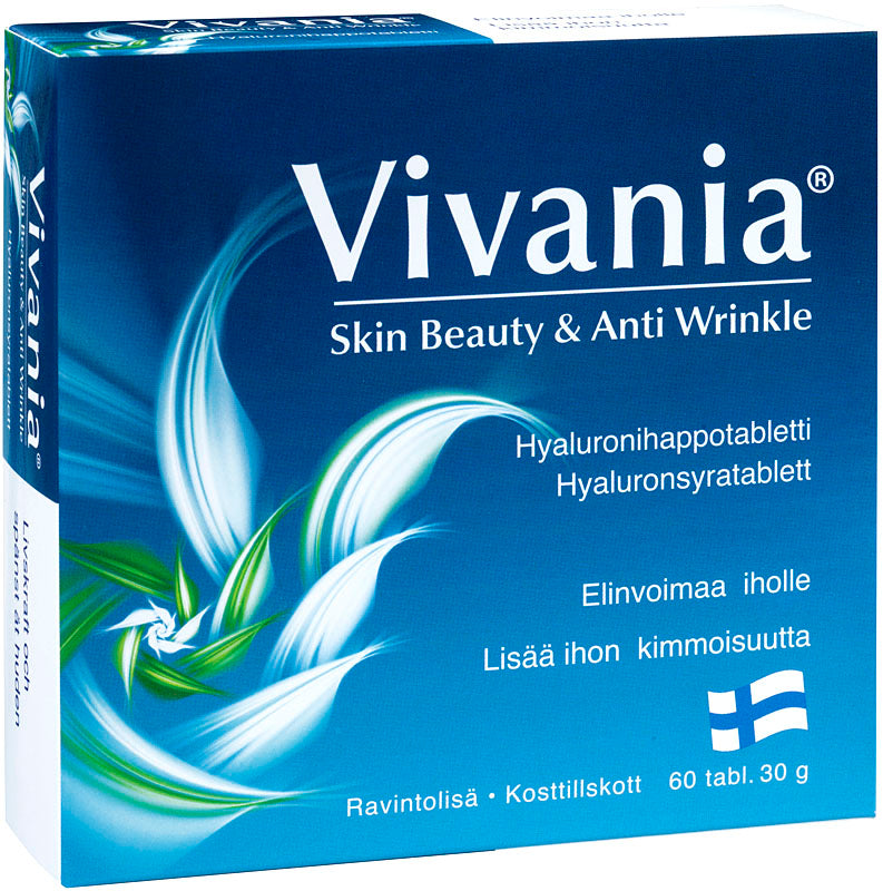 Vivania® Skin Beauty & Anti Wrinkle 60 tabl.