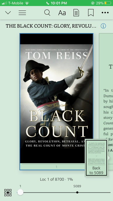 The Black Count: Glory, Revolution, Betrayal and the Real Count of Monte Cristo (2012)