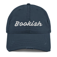 Load image into Gallery viewer, Bookish Distressed Dad Hat