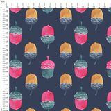 Acorns Digital Custom Print Fabric