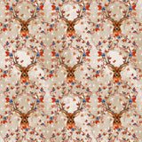 Autumn Deer Digital Custom Print Fabric