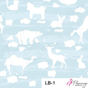 Lullaby Digital Custom Print Fabric