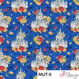 Mouse Upon A Time Digital Custom Print Fabric