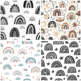 Rainbows Digital Custom Print Fabric