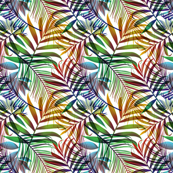 Palm Leaves Digital Custom Print Fabric
