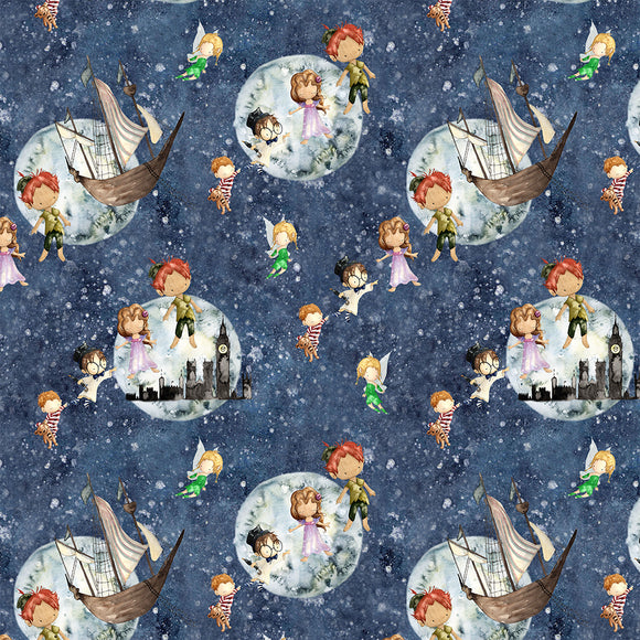 Peter Pan Digital Custom Print Fabric