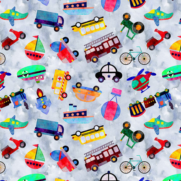 Transport Digital Custom Print Fabric