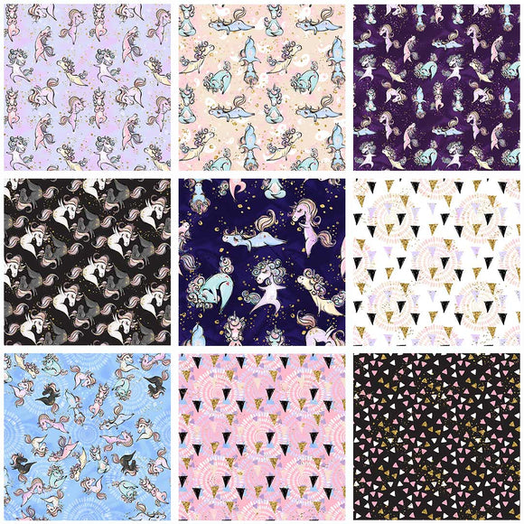 Yogacorns Digital Custom Print Fabric