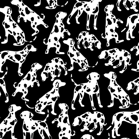 Dalmatian Digital Custom Print Fabric