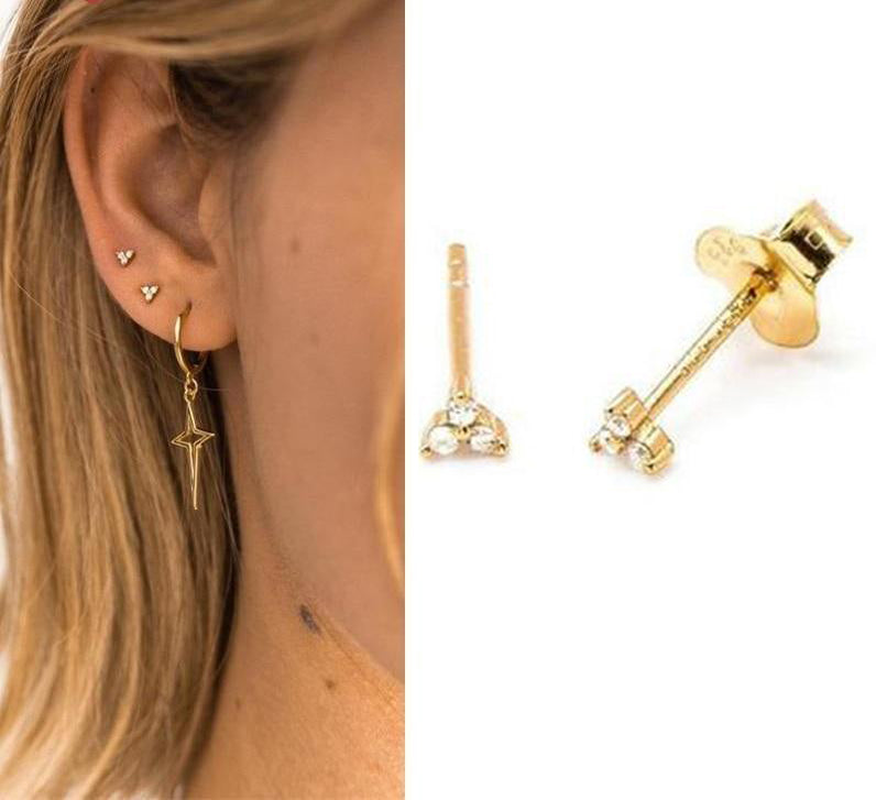 Beautiful Set of stud earrings