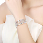 Load image into Gallery viewer, Dentelle filigree Bangle