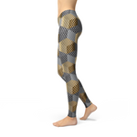 Load image into Gallery viewer, Avery Golden Geometric Leggings