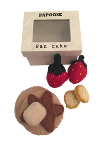 Papoose Felt Pancake set of 8pc