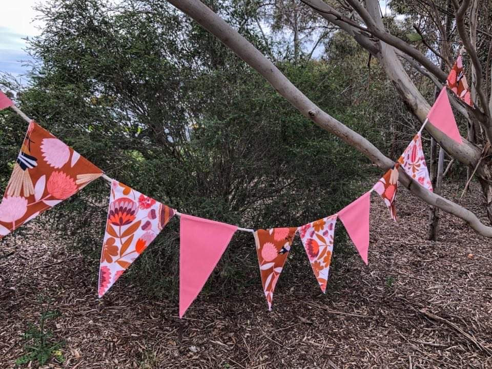 Native Flower Bunting