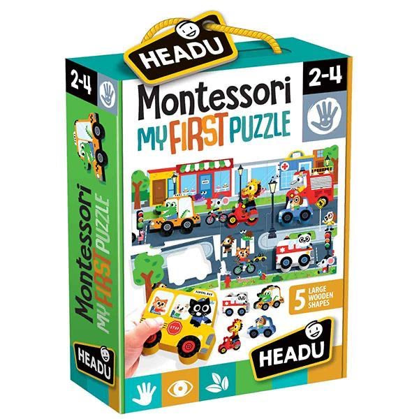 Montessori First Puzzle The City- Headu