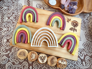 Rainbow Dough Cutter