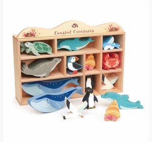 Coastal Animal Set (Tender Leaf Toys)