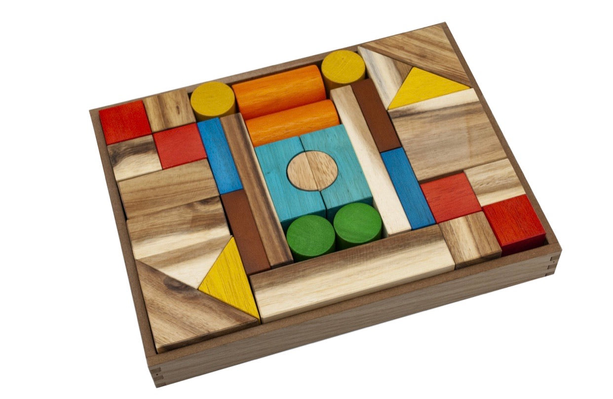 Natural Colour Wooden Blocks