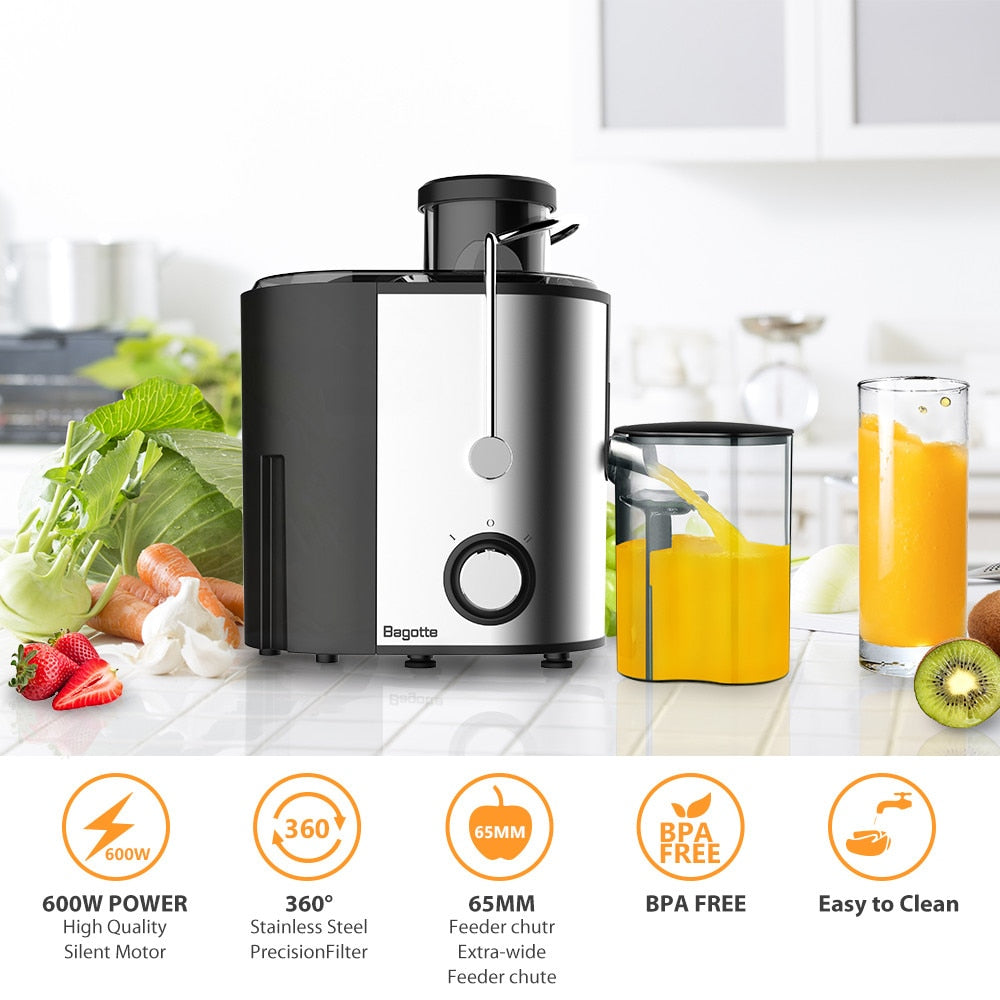 Juice Extractor Electric Juicer 400ML Adjustment Juicers Fruit Vegetable Food-Blender Mixer Extractor Machine #LR4