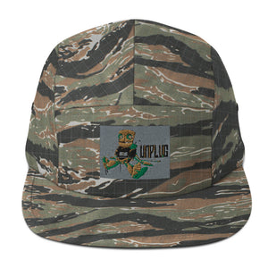 Tiger Camo Five Panel Cap