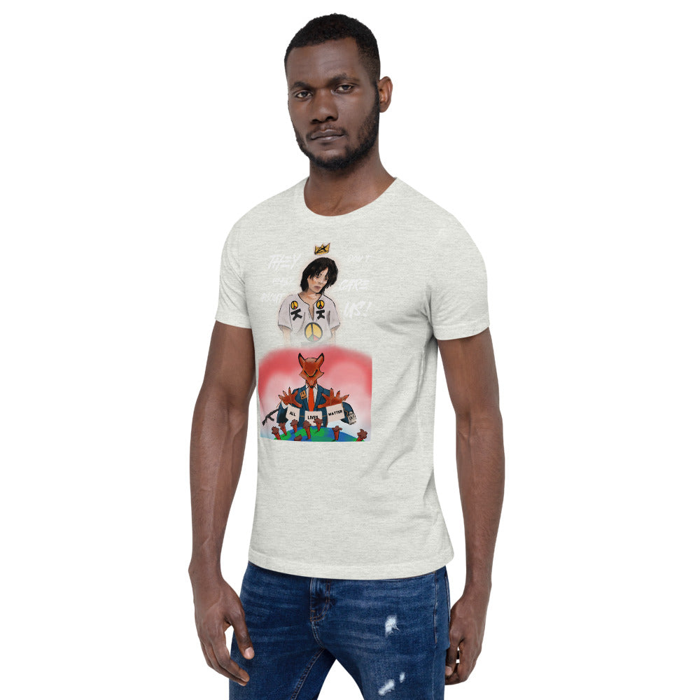They Don't Really Care About Us MJ Short-Sleeve Unisex T-Shirt
