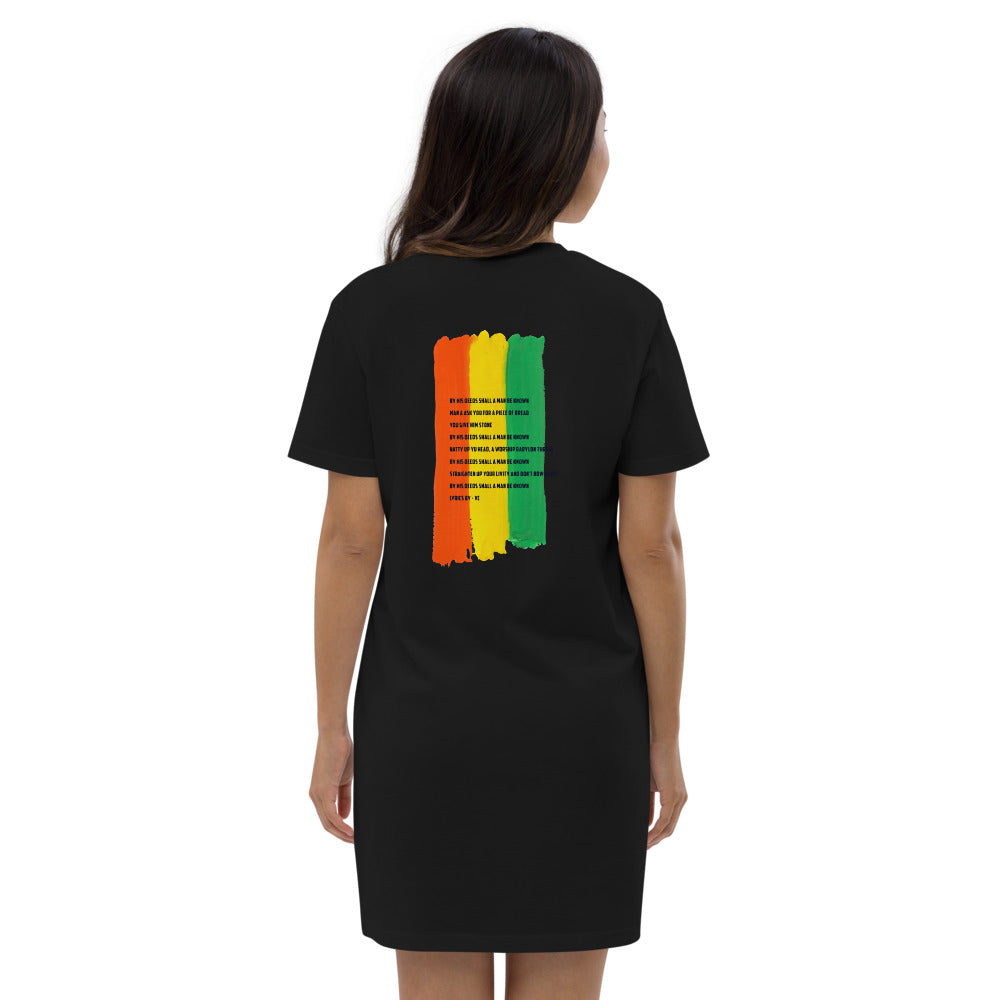 BLK Jesus  cotton t-shirt dress