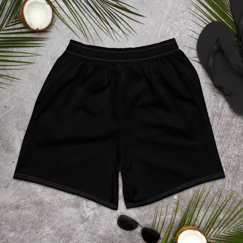 Don't You Dare Quit Men's Athletic Long Shorts
