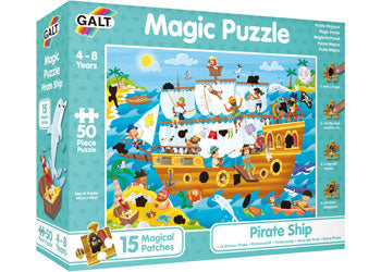 Galt - Magic Puzzle - Pirate Ship