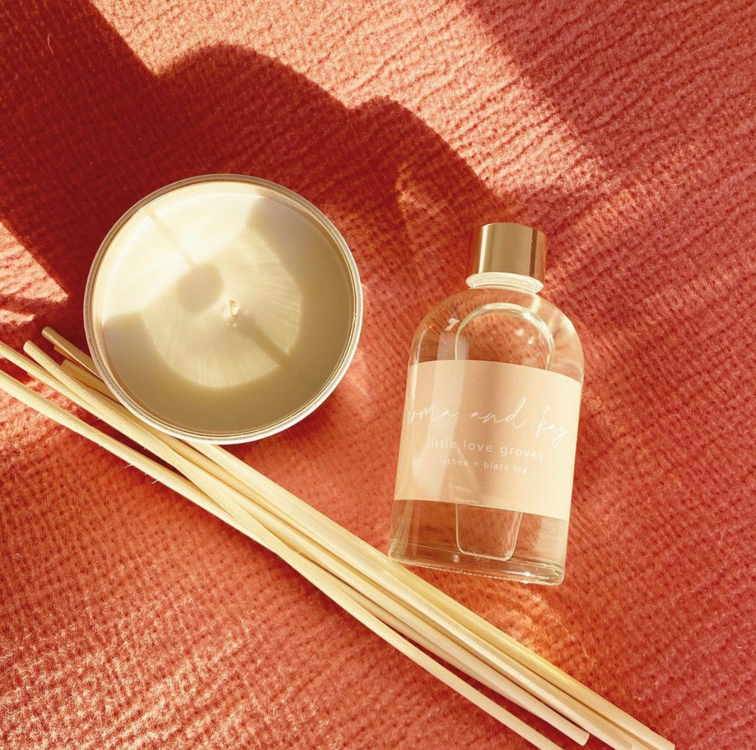 Reed Diffuser - Black Tea & Lychee