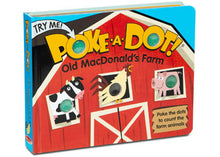 Load image into Gallery viewer, M&D - Poke-A-Dot - Old Macdonald's Farm Book