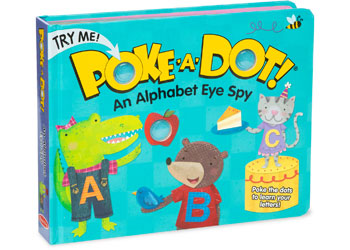 Melissa & Doug - Poke-A-Dot - Alpha Eye Spy