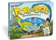 Load image into Gallery viewer, Melissa & Doug - Poke-A-Dot - Dinosaurs A to Z Book