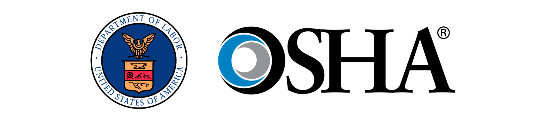 Department of Labor and OSHA logos