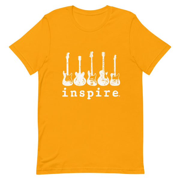 inspire Guitar Short-Sleeve Unisex T-Shirt